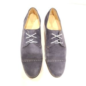 819511717697 Cole Haan Shoes - Cole Haan d42627 8b navy suede lace up